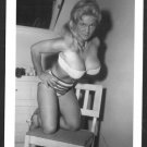VIRGINIA BELL BUSTY IN WHITE BRA PANTIES POSE NEW REPRINT 5 X 7 #85