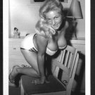 VIRGINIA BELL BUSTY IN WHITE BRA PANTIES POSE NEW REPRINT 5 X 7 #93