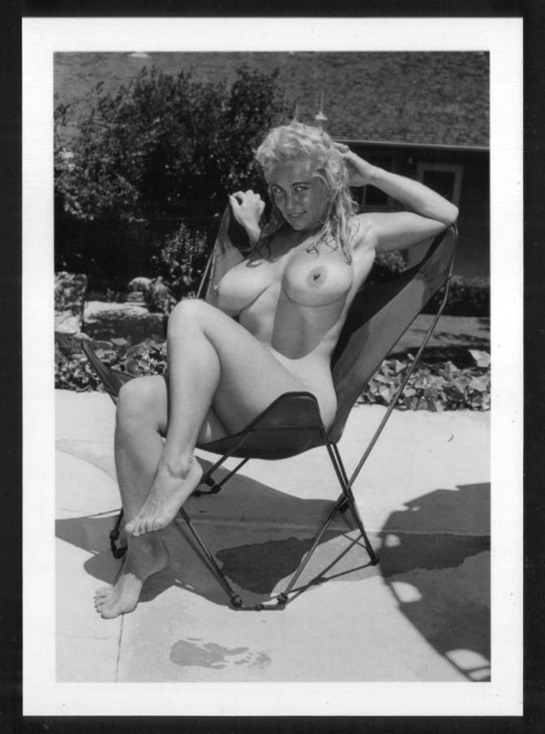 VIRGINIA BELL TOPLESS NUDE HUGE BREASTS NEW REPRINT 5 X 7 #110