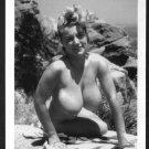 VIRGINIA BELL TOPLESS NUDE HUGE BREASTS NEW REPRINT 5 X 7 #117