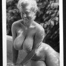 VIRGINIA BELL TOPLESS NUDE HUGE BREASTS NEW REPRINT 5 X 7 #130