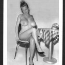 VIRGINIA BELL TOPLESS NUDE HUGE BREASTS NEW REPRINT 5 X 7 #138