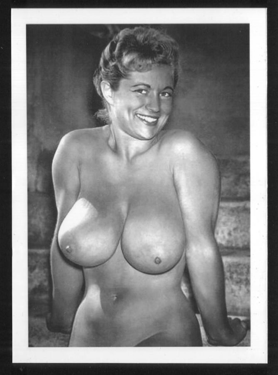 VIRGINIA BELL TOPLESS NUDE HUGE BREASTS NEW REPRINT 5 X 7 #147