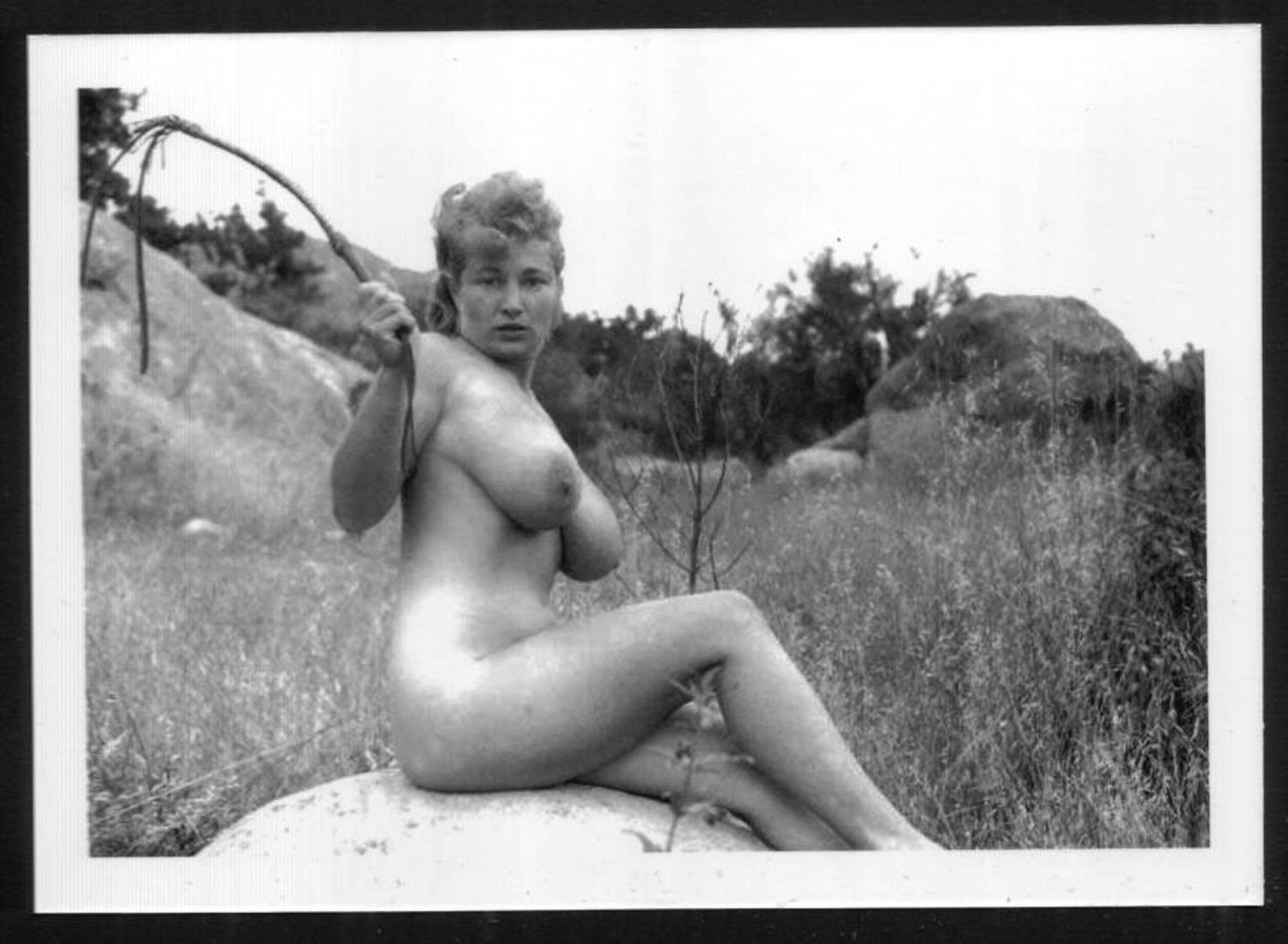 VIRGINIA BELL TOPLESS NUDE HUGE BREASTS NEW REPRINT 5 X 7 #177