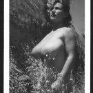 VIRGINIA BELL TOPLESS NUDE HUGE BREASTS NEW REPRINT 5 X 7 #190