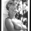 VIRGINIA BELL TOPLESS NUDE HUGE BREASTS NEW REPRINT 5 X 7 #192