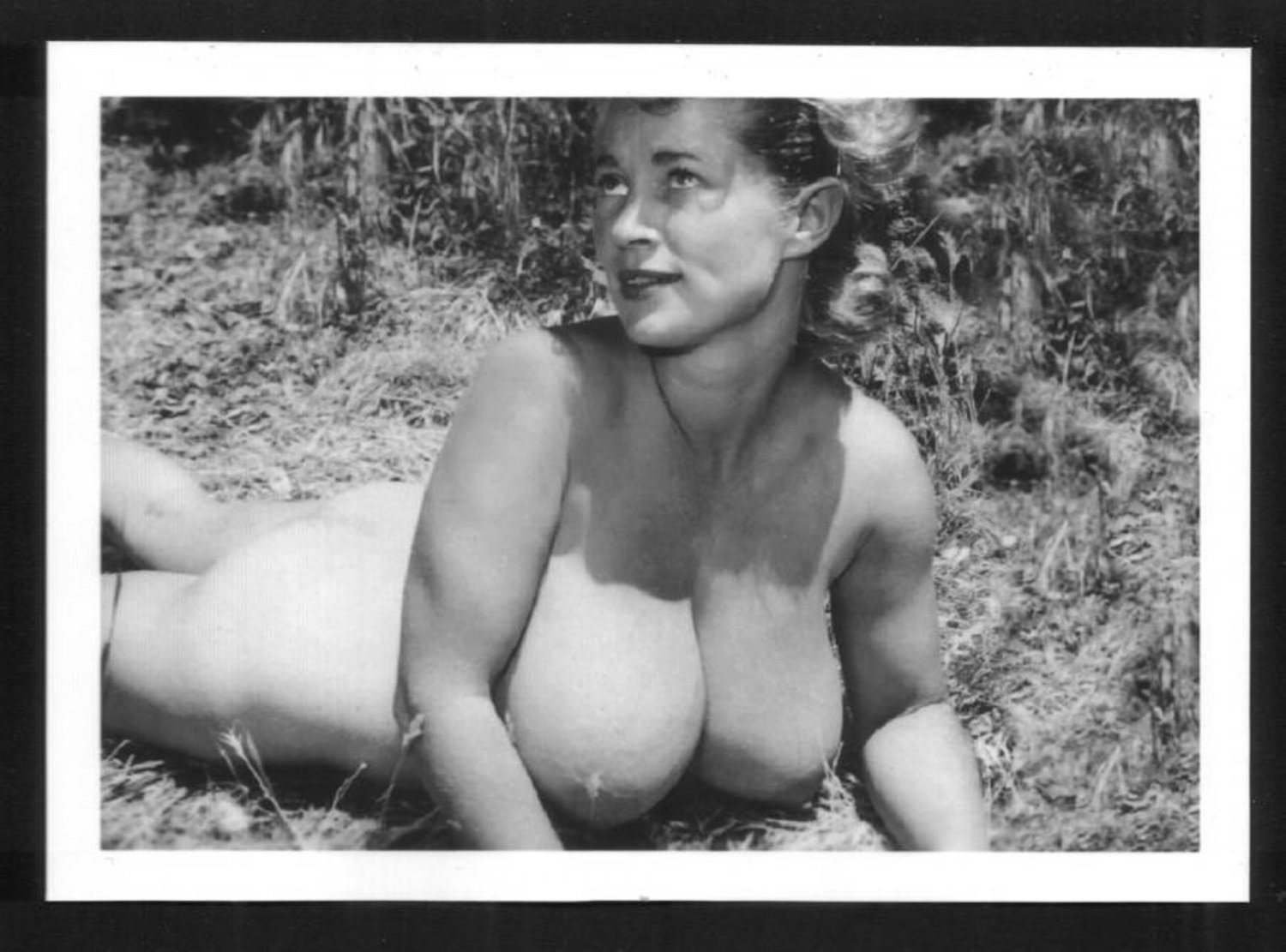 VIRGINIA BELL TOPLESS NUDE HUGE BREASTS NEW REPRINT 5 X 7 #193