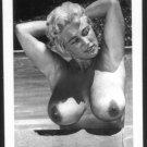 VIRGINIA BELL TOPLESS NUDE HUGE BREASTS NEW REPRINT 5 X 7 #237