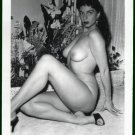 JACKIE MILLER TOTALLY NUDE BIG BREASTS POSE NEW REPRINT 5X7  JM-25