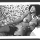 EBONY ELAINE COLLINS TOPLESS NUDE HUGE BREASTS HAIRY PUSSY NEW  REPRINT 5X7 #17