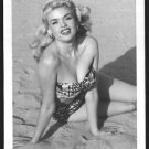 ACTRESS JAYNE MANSFIELD BOSOMY BIKINI POSE NEW REPRINT PHOTO 5X7 #17
