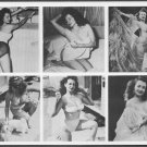 BURLESQUE STRIPPER BETTY HOWARD VINTAGE 1950'S MACHINE PRINTED PHOTOS 5X7 #02