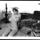 ROBERTA PEDON TOTALLY NUDE HUGE BREASTS HAIRY PUSSY NEW REPRINT 5 X 7 #034
