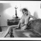 ROBERTA PEDON TOTALLY NUDE HUGE BREASTS HAIRY PUSSY NEW REPRINT 5 X 7 #223