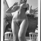 ROBERTA PEDON TOTALLY NUDE HUGE BREASTS HAIRY PUSSY NEW REPRINT 5 X 7 #376