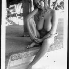 ROBERTA PEDON TOTALLY NUDE HUGE BREASTS HAIRY PUSSY NEW REPRINT 5 X 7 #384