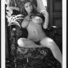 ROBERTA PEDON TOTALLY NUDE HUGE BREASTS HAIRY PUSSY NEW REPRINT 5 X 7 #147