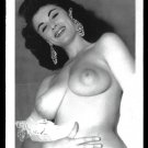 EVE EDEN TOPLESS NUDE HUGE HEAVY HANGING BOOBS POSE 5X7 REPRINT #007