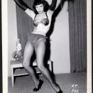 BETTY/BETTIE PAGE VINTAGE IRVING KLAW PHOTO 4X5  BP-295