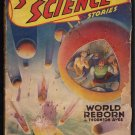 SUPER SCIENCE STORIES PULP MAGAZINE MARCH 1940 VOLUME 1 ISSUE NUMBER 1 DAMAGED BUT VERY RARE