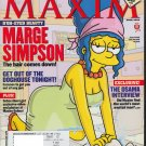 MARGE SIMPSON PARIS HILTON MAXIM MAGAZINE APRIL 2004 NEAR MINT CONDITION.