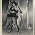 BETTY PAGE SEXY POSE IRVING KLAW VINTAGE PHOTO 4x5 BP-128