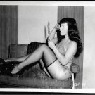 BETTY/BETTIE PAGE VINTAGE IRVING KLAW PHOTO 4X5  BP-221