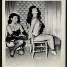 BETTY/BETTIE PAGE VINTAGE IRVING KLAW PHOTO 4X5  #7515 Sold Not Avail.