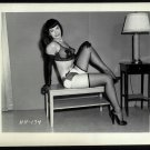 BETTY/BETTIE PAGE VINTAGE IRVING KLAW PHOTO 4X5  HH-174