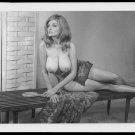 OLGA GRAHAMS TOPLESS NUDE HUGE HANGING BOOBS POSE 5X7 REPRINT #84A