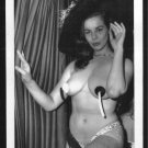 STRIPPER ANITA VENTURA TOPLESS NUDE BREASTS POSE 5X7 REPRINT #07