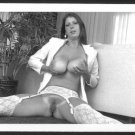 JOYCE SPAETH TOPLESS NUDE BIG BREASTS HAIRY PUSSY NEW REPRINT 5 X 7 #1