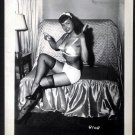 BETTY PAGE COOL LEGGY POSE IRVING KLAW VINTAGE PHOTO 4X5  #8108 RARE
