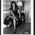 BETTY PAGE LEGGY LEGGY POSE IRVING KLAW VINTAGE PHOTO 4X5   #2092