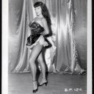 BETTY PAGE LEGGY LEGGY POSE IRVING KLAW VINTAGE PHOTO 4X5  #125
