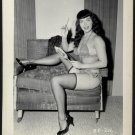 BETTY/BETTIE PAGE VINTAGE IRVING KLAW PHOTO 4X5  BP-226