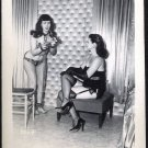 BETTY/BETTIE PAGE VINTAGE IRVING KLAW PHOTO 4X5  #7504