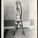 BETTY/BETTIE PAGE VINTAGE IRVING KLAW PHOTO 4X5  W-837