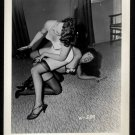 BETTY/BETTIE PAGE WITH PEGGY LEER VINTAGE IRVING KLAW PHOTO 4X5  W-559
