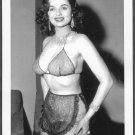 "BOSOMY STRIPPER DORIAN DENNIS ADVERTISEMENT FOR THE FILM ""BUXOM BEAUTEASE"" 5X7 REPRINT #50"