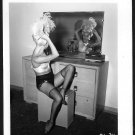 STRIPPER BABY LAKE VINTAGE IRVING KLAW PHOTO 4X5 #34