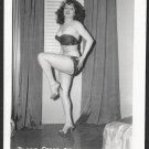 STRIPPER BLAZE STARR VINTAGE IRVING KLAW PHOTO 4X5 #34