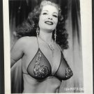 STRIPPER TEMPEST STORM VINTAGE IRVING KLAW PHOTO 4X5 #130