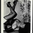 BETTY PAGE WOW WOW POSE IRVING KLAW VINTAGE PHOTO 4X5  EE-376