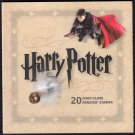 HARRY POTTER STAMP BOOKLET 20 FOREVER STAMPS USPS 2013 RARE