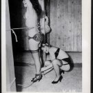 BETTY/BETTIE PAGE VINTAGE IRVING KLAW PHOTO 4X5  W-858