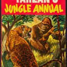 TARZAN'S JUNGLE ANNUAL EDGAR RICE BURROUGHS DELL PUBLISHING NUMBER 4 1955 FINE
