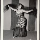 INFAMOUS STRIPPER JADA CONFORTO IRVING KLAW VINTAGE ORIGINAL PHOTO 4X5 1950'S #1