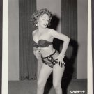 INFAMOUS STRIPPER JADA CONFORTO IRVING KLAW VINTAGE ORIGINAL PHOTO 4X5 1950'S #14