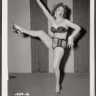 INFAMOUS STRIPPER JADA CONFORTO IRVING KLAW VINTAGE ORIGINAL PHOTO 4X5 1950'S #16